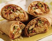 Peking Chicken Wraps