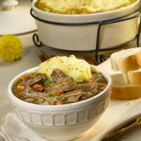 Lamb Stew with Mashed Potato Crust: Main Image