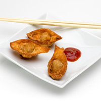Apricot Lamb Won Tons: Main Image