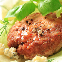 Blue Cheese Lamb Patties: Main Image
