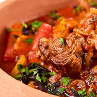 Chunky Lamb and Vegetable Soup: Main Image