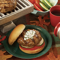 Merguez Lamb Burgers: Main Image