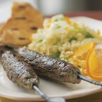 Skewered Spiced Lamb Kafta: Main Image