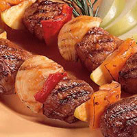 Apple-icious Lamb Kabobs: Main Image