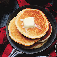 Wheat-Free Breakfast Pancakes: Main Image