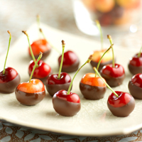 Chocolate-Dipped Cherry Treats: Main Image