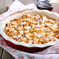 Apple Bread Pudding: Main Image