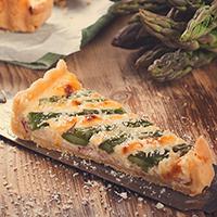 Asparagus Swiss Cheese Strata: Main Image