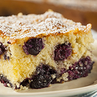 Blueberry Coffee Cake: Main Image