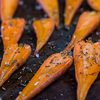 Caramelized Roasted Carrots: Main Image