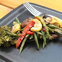 Chilled Roasted Vegetable Salad with Horseradish-Dijon Dressing: Main Image
