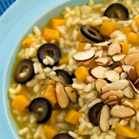 Butternut Squash and Olive Risotto: Main Image