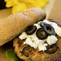 California Turkey Burger: Main Image