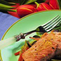Parchment Roasted Salmon: Main Image