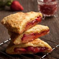 Fresh Strawberry Scones: Main Image
