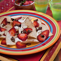 Strawberry Nachos: Main Image