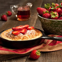 Strawberry Souffle Pancake: Main Image