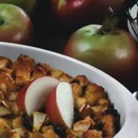 Apple-Raisin Bread Pudding: Main Image
