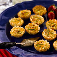 Bacon Onion Quiche Bites: Main Image