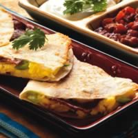 Bacon and Egg Quesadillas: Main Image