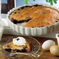 Blueberry Clafouti: Main Image