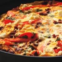Chorizo and Pepper Frittata: Main Image