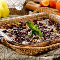 Cinnamon-Cranberry Brunch Strata: Main Image