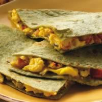Egg and Cheddar Quesadillas: Main Image