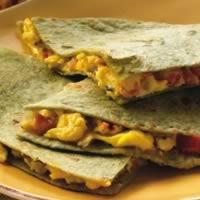 Egg and Cheddar Quesadillas: Main Image