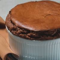 Hot Chocolate Soufflé: Main Image