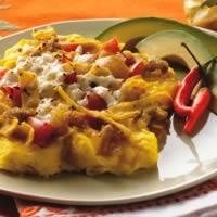 Tex-Mex Scrambled Eggs and Tortillas (Migas): Main Image