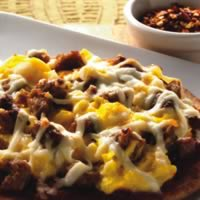 Mini Breakfast Pita Pizzas: Main Image