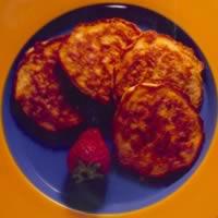 Silver Dollar Corn Pancakes: Main Image