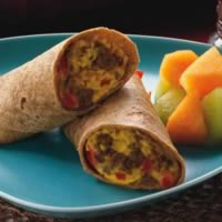 Southwest Breakfast Burritos: Main Image