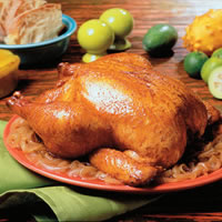 Chicken Roasted with Rum and Spices: Main Image