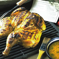 Spatchcocked Deviled Chicken: Main Image