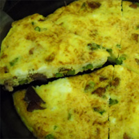 Asparagus and Ham Frittata: Main Image