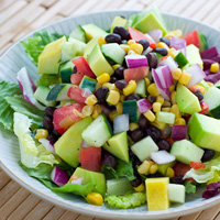 Black Bean, Corn, and Avocado Salad: Main Image