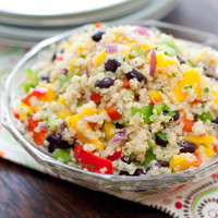 Black Bean, Mango, and Quinoa Salad: Main Image