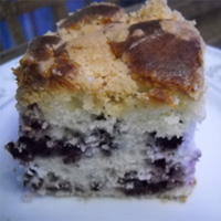 Blueberry Lemon Buckle: Main Image