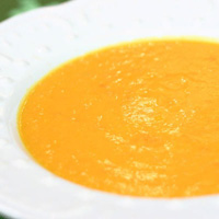 Carrot Ginger Coconut Soup: Main Image