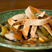 Chicken Tortilla Soup: Main Image