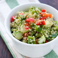 Greek Quinoa Salad: Main Image