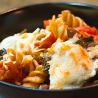 Italian Sausage and Pepper Pasta: Main Image