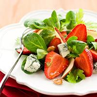 Strawberry and Gorgonzola Salad: Main Image