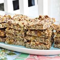 Baked Oatmeal Snack Bars: Main Image