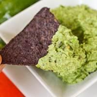 Lavender Pea Hummus: Main Image