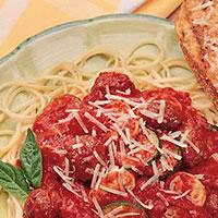Lamb and Spaghetti Primavera: Main Image