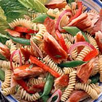 Light Pasta Salad with Smoked Albacore: Main Image