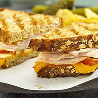 Apple Cheddar Turkey Panini: Main Image
